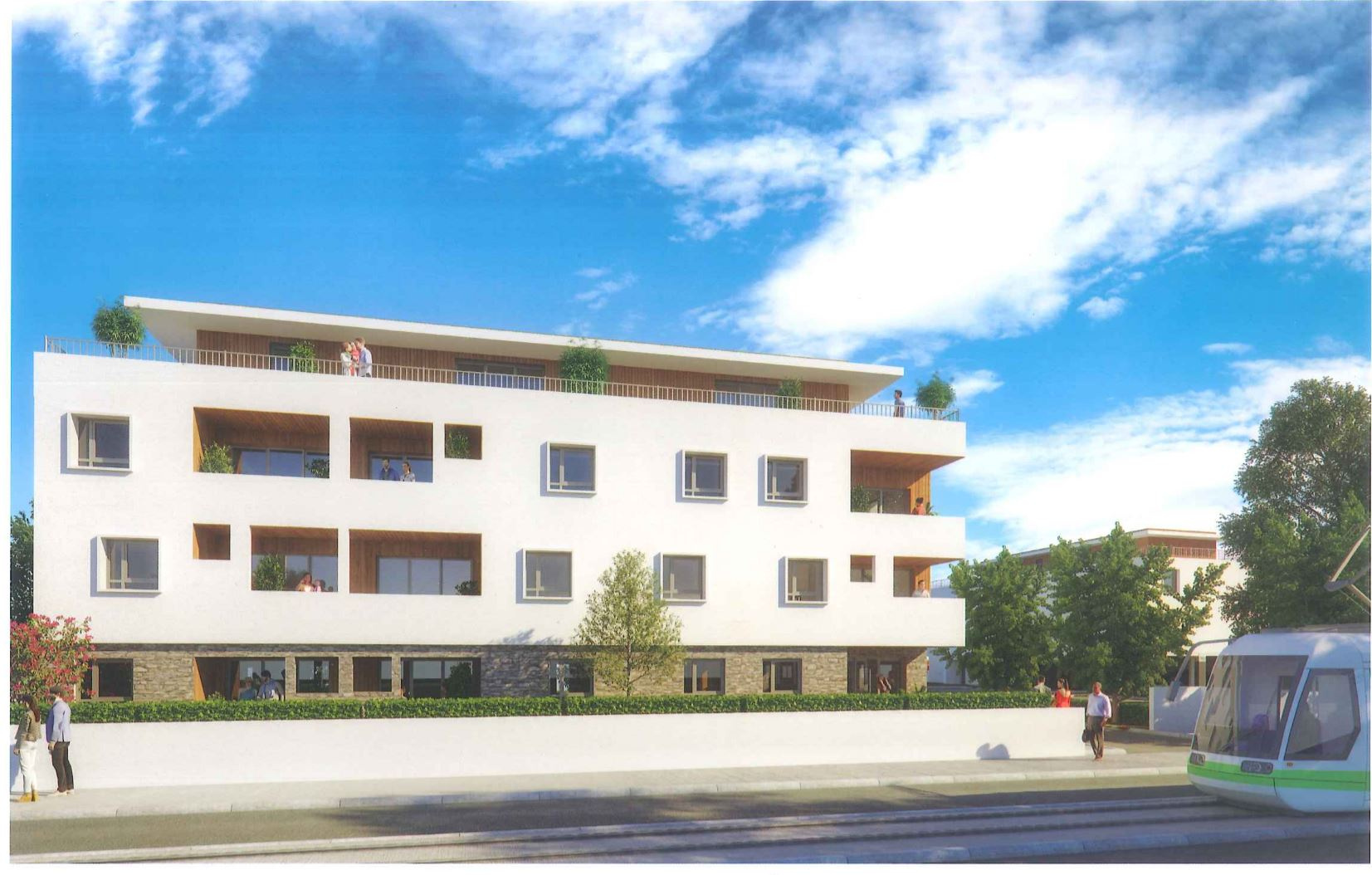Vente appartement t3 neuf de 64 m pessac for Appartement t3 neuf